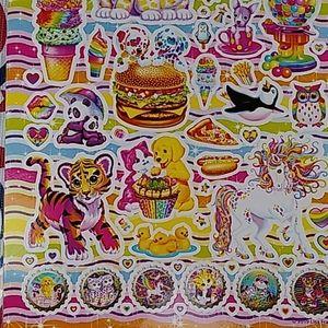 Lisa Frank Sticker booklet